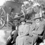 My father Jack Beath on an outing with fiancé Eunice Kelly and friends